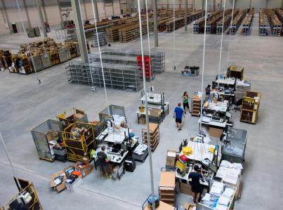 21sportsgroup - Logistikzentrum Ketsch
