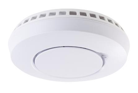 VisorTech Funk-Hitze-/Rauchmelder WMS-250.hr vernetzbar, optionale App-Anbindung per WMS-250.gw