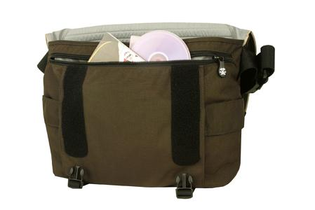 Front organiser with strong zipper and inside pockets