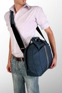 Removable adjustable shoulder strap with removable shoulder pad