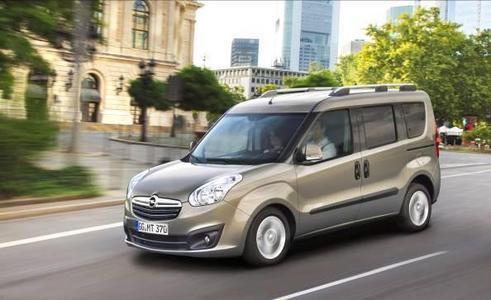 Vielseitig: Pkw-Van Combo passt für Familie, Freizeit und Beruf