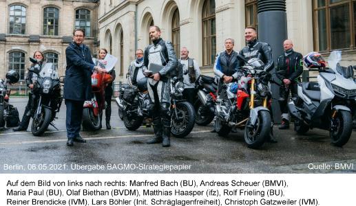 BAGMO-Delegation mit Bundesverkehrsminister Scheuer