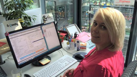 Monika Olejniczak, Fernstudentin