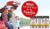 Der Tarif AvD HELP PLUS FÜR DIE FAMILIE sichert die Mobilität von Familien mit einem starken Leistungspaket ab.