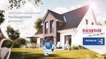 Heinz von Heiden verlost als Kooperationspartner der PAYBACK GmbH einen Hausbaugutschein im Wert von 200.000 Euro für ein zu bauendes Massivhaus beim großen PAYBACK Joker Gewinnspiel 2021.