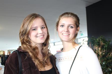 Madita Meyer und Carola Hentschel beginnen im Wintersemester 2015/2016 ihr Studium im Studiengang International Business and Management