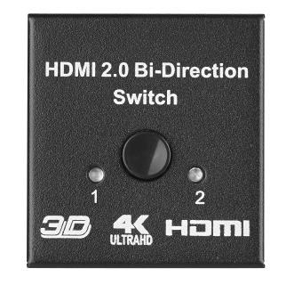 Dank bidirektionaler Kommunikation lassen sich 3 HDMI-Geräte miteinander verbinden