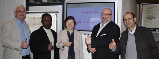 OnCampus Migrationsforum treffen