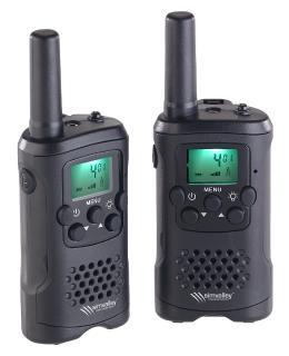 PX 2319 9 simvalley communications 2 er Set Walkie Talkies VOX.