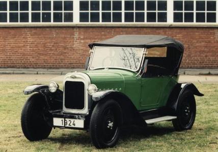 Opel Laubfrosch: Mit dem offenen Wagen startete 1924 in Rüsselsheim die Fließbandfertigung