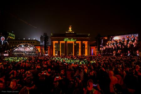 25 Jahre Mauerfall in Berlin
