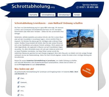 Schrottabholung in Leverkusen – ordentliche Entsorgung von Altmetallen