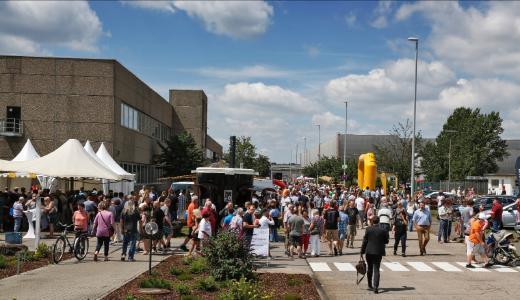Mehr als 15.000 Menschen kamen zum Tag der offenen Tür nach Kaiserslautern. Ein voller Erfolg
