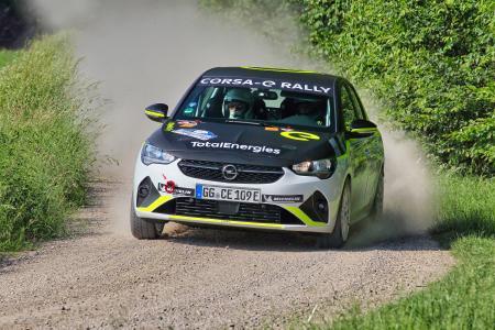 Opel Corsa-e Rally Electrifies Rallying