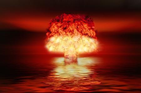Explosion einer Atombombe © Foto: Gerd Altmann auf Pixabay