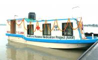 Bootsklinik von ADRA Bangladesch  © Foto: ADRA Bangladesch