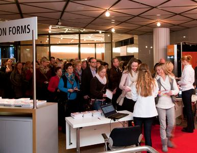 Deutliche Steigerung: 17 % mehr Fachbesucher, haben die vivanti, vom 5. bis 7. Januar 2013 in Düsseldorf, besucht - darunter 8 % , die die Messe zum ersten Mal besucht haben!