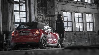 Beliebter Briten-Kleinwagen auf großen Fuß - Tzunamee EVO am Mini Cooper Cabrio