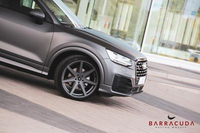 Barracuda Racing Wheels Europe: Barracuda Virus-Räder in 20 Zoll an Audis kleinstem SUV