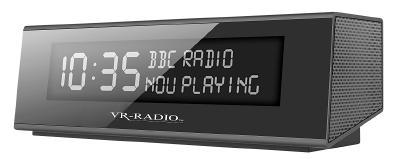 NX 4371 4 VR Radio Digitales DAB FM Stereo Radio mit Wecker