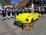 Story telling im Käfer Cabrio vom Main zu den Alpen