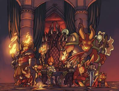 Might & Magic Clash of Heroes - Illustration