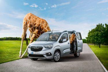 e new Opel Combo Life: More than just a neck ahead of the competition.