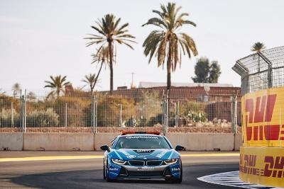 Formel E, Qualcomm BMW i8 Safety Car, Marrakesch