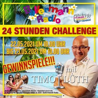 """""""24 Stunden Challenge"""" bei Ballermann Radio"""