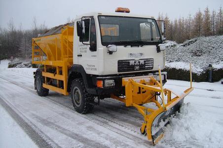 Cardwell fährt gut mit dem Continental MPT 80 beim Winterdienst (Foto: Continental)