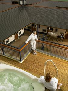 Hot Tub overlooking stables