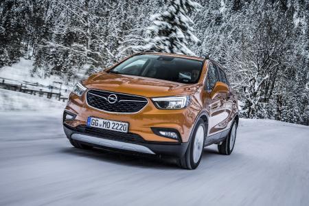 Keine Angst mehr vor dem Winter: Mit zahlreichen Sicherheits- und Komfort-Features machen Opel-Modelle wie der Mokka X die Fahrt sicher und entspannt