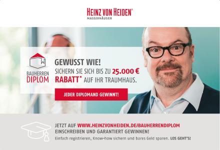 Heinz von Heiden Bauherren Diplom