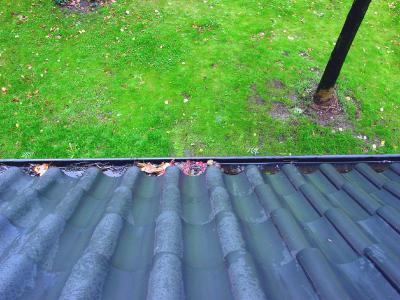 Kleine Ursache für – leider – große Auswirkungen können Wasserabführungen sein, die schon lange nicht mehr im Zuge einer Dachwartung gesäubert wurden.