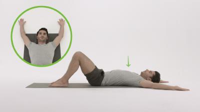 Übung aus die Rücken Fit Challenge
