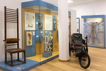 Zeitreise durch die Entwicklung der Orthopädie in Deutschland: Nach einjährigem Umbau wurde jetzt in Frankfurt das Deutsche Orthopädische Geschichts- und Forschungsmuseum wiedereröffnet