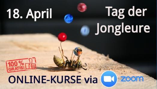 Tag der Jongleure - 18. April