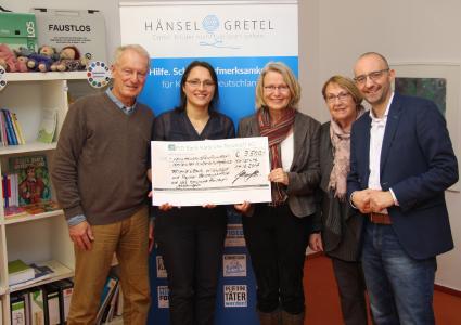Stiftung Hänsel+Gretel setzt in 20 Jahren über 500 Projekte für Kinder um