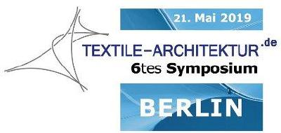 6tes Symposium TEXTLE-ARCHITEKTUR, 21. Mai 2019 in Berlin