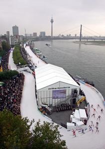Pressefoto Weltcupstrecke Düsseldorf