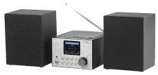 auvisio Micro-Stereoanlage IRS-500.mini mit Webradio, DAB+, FM, CD, Bluetooth, USB, 60 Watt