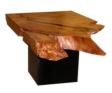Außergewöhnlicher Wurzelholz Tisch Couchtisch Aus Uraltem Kauri