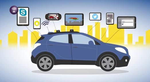 Mit schneller Datenverbindung unterwegs: Opel OnStar ist der persönliche Online- und Service-Assistent und bietet einen WLAN-Hotspot für bis zu sieben Geräte im Auto © GM Company