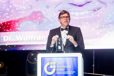 Wolfram Weimer bei seiner Dankesrede
