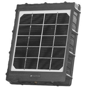 VisorTech Akku-Solarpanel PB-55.solar für Micro-USB-Geräte, 5.000 mAh, 5 Watt (USB), IP65 / Copyright-Hinweis: PEARL.GmbH / www.pearl.de.