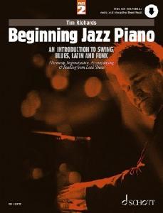 Schott ED23379 Beginning Jazz Piano Part 2