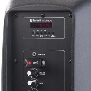 ZX 1681 6 auvisio Mobile PA Partyanlage PMA 900.k mit Bluetooth