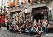 Au-pair Treffen in Dublin, September 2017: Mehr als 40 Au-pairs aus aller Welt folgten der Einladung von AuPairWorld