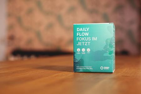 Daily Flow Verpackung mit 20 Sachets à 9 Gramm