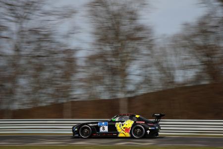 HARIBO RACING TEAM greift beim 24h-Rennen nach einem Podestplatz